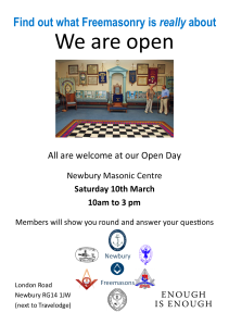 Open Day Poster 2018