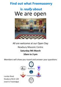 Open Day Poster 2019